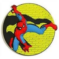 marvel mega spiderman magnet