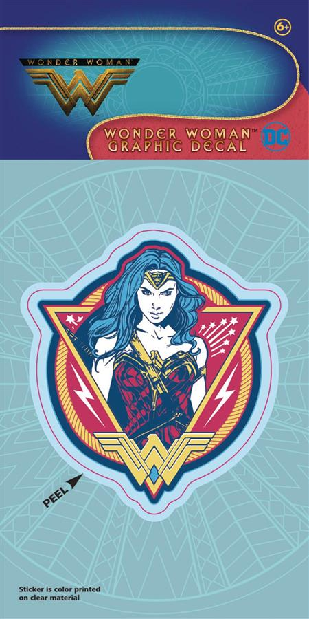 WONDER WOMAN MOVIE COLOR PATCH DECAL (C: 1-1-0)