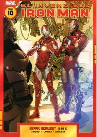 LIBRO EL INVENCIBLE IRON MAN 10