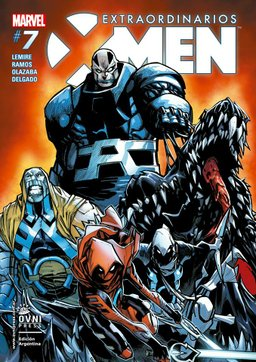 LIBRO EXTRAORDINARIOS X-MEN 07