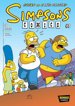 LIBRO SIMPSONS COMICS 08